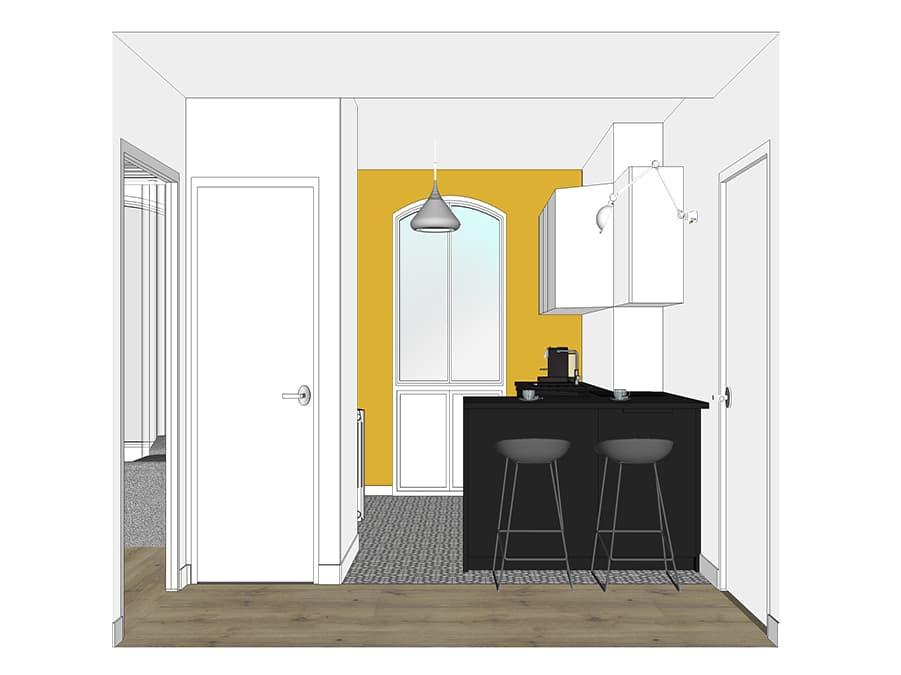 quartier m nilmontant estelle chevallier architecte d 39 int rieur paris. Black Bedroom Furniture Sets. Home Design Ideas
