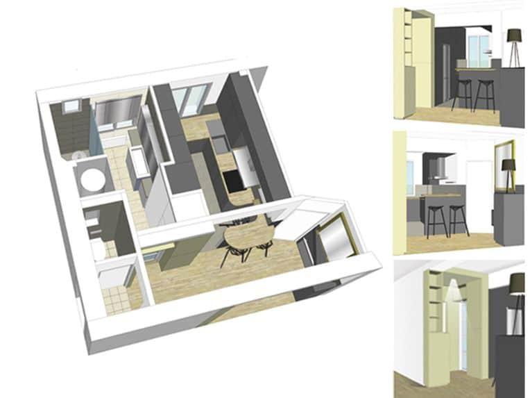 vue sur la tour eiffel estelle chevallier architecte d 39 int rieur paris. Black Bedroom Furniture Sets. Home Design Ideas